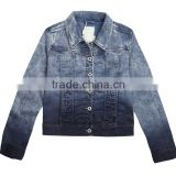 jeans factory guangzhou denim fashion skinny ladies blouse jeans jacket                                                                                                         Supplier's Choice