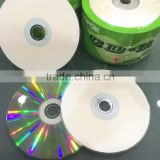 raw matetial Blank CDs Disc 52X A Grade Silver Color in 50/100pcs Shrinkwrap shrink wrap 700mb blank cd-r