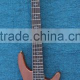 Weifang Rebon 5 string neck through body electric bass guitar with active pickup