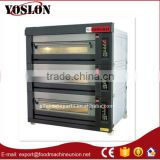 2016 Canton Fair hot sell 3 deck pizza gas deck oven from China
