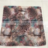 Scarf Tree Leopard Print Butterfly Pattern Scarves 100% Viscose Muslim Hijab Scarf 180*90 Pashmina Shawls Scarf