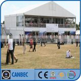 20x25m Double Story Shelter Glass Tents For Events, Aluninum Double Story Events Tents For Sale
