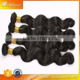 Body wave hair, no grey hair no lice original remy virgin human hair extension trio Brazilian body wave