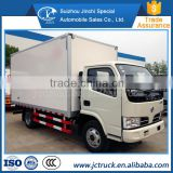 Most famous Dongfeng used 3 ton freezer refrigerated truck manufacturer in China