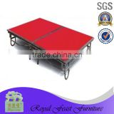 High quality banquet movable dancing stage,dance stage platform, banquet mobile stage, portable dance floor