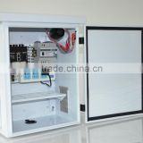 White Waterproof Metal Electrical Enclosures of Outdoor Used