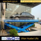 Warehouse stationary electric hydraulic multi stage scissor lift platform                                                                                                         Supplier's Choice