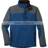 2012 fashion design mens waterproof softshell jacket for winter