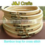 bamboo loop for embroidery,embroidery hoop
