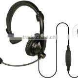 Headset for Walkie Talkie Kenwood 2 Pins K plug