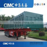 China Hot Sales 3 Axle 60Ton Side Tipper Dump Truck Trailer