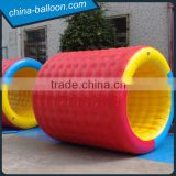 pvc tarpaulin new style inflatable water roller, inflatable water rolling ball cheap price