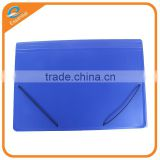 PP expanding file with stripe embossed,organizing file folder,expanding folder with elastic band