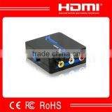 hdmi to analog converter with small size hdmi to av converter ntsc pal adjustment