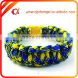mix colour Cheap Paracord Bracelet Release Buckle - Camping, Hiking, Outdoors, Utility, Emergency, Survival