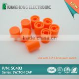 push button switch caps SC403, mini plastic tact switch cap for pushbutton switch