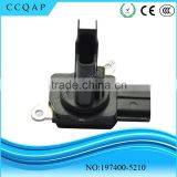 China distributors whloesale with low price auto parts sensor digital MAF air flow meter for Mazda Suzuki 197400-5210