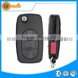 315Mhz and chip with 4D0 837 231M M remote control 3 button blank key for Audi A6 TT Q5 Q7