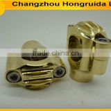motorcycle brass handlebar risers for harley/ for harley cafe racer brass handlebar risers