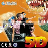 High popularity street charming 3d 4d 5d 6d 7d simulation ride cinema