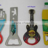 guitar shape metal bottle opener