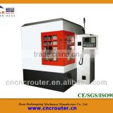 China metal plate engraving machine with super high precision ball screws and square guide way