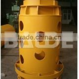 Wear parts casing drives casing teeth for casing drilling tools