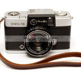 High quality custom brown leather camera strap from leather manufacturer