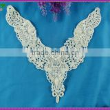 New fashion dresses guipure lace Textile Embroidered embroidery organza lace collar for garment