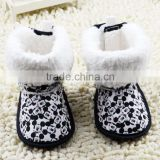 Mickey soft cotton fabric girls boots Autumn&Winter Season baby boots shoes for 0-1 years