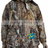 Men's outdoor army camouflage clothing waterproof combat hunting uniform jacket with hooded
