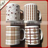 private label ceramic cup for coffee,promotional coffee mug,italian ceramic coffee cups