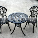 2016 Best Choice Products Outdoor Patio Furniture Leaf Design Cast Aluminum Set Black Sand