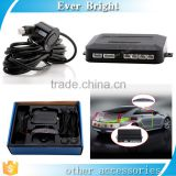 4 Sensors Buzzer Drill Hole Saw 22mm Car Parking Sensor Kit Reverse Radar Sound Alert Indicator System