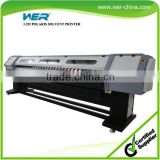 3.2m large format solvent outdoor printer spectra polaris print heads 512 15pl head solvent printer WER-P3208