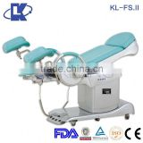 FS.II Electric Pelvic Examination Bed Electrical gynaecology delivery table with foot remote control Medical Delivery Table