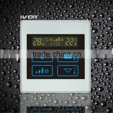 Good Quality IVOR 220V Central Air-Conditioner Thermostat Digital AC Thermostat Switch SK-AC2300T Light Silver PC Frame