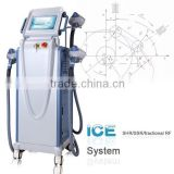 590-1200nm IPL RF/ E-light IPL SHR/ Hair Shrink Trichopore Removal IPL Therapy Acne Wrinkle Removal Machine