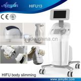 Deep Wrinkles Body Shape Nasolabial Folds Removal Lipo Hifu Machine/ HIFU Slimming 8MHz