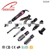 professional curling brush round salon edition hot air brush