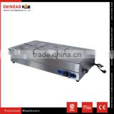 CHINZAO Brand Commercial Automatic Electric Bain Marie Food Warmer /Countertop Soup Warmer for Hot Sell