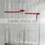 Zinc coat A/Z/L style nesting warehouse cart (storage trolley)