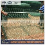 stainless steel/pvc coated gabion basket manufacture factory