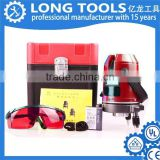 High quality with cheap price self leveling automatic rotation red beam laser level machine