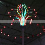 Artificial garden lighting waterproof new year outdoor christmas tree led sculpture light
