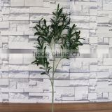 Artificial Olive Branch Fake Olive Leaves Silk Olive spray