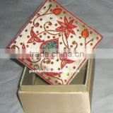 Fashionable Zari Embroidery Jewelry Box