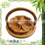 Good quality sell well bamboo hanging fruit basket