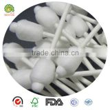 ear cleaning plastic stick baby cotton bud