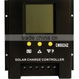 solar charger controller SC-CM8024 80A /24V with LCD display pwm charge model